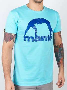 MANTO t-shirt VIBE turkus