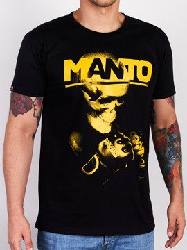 MANTO t-shirt NEW SKULL czarny