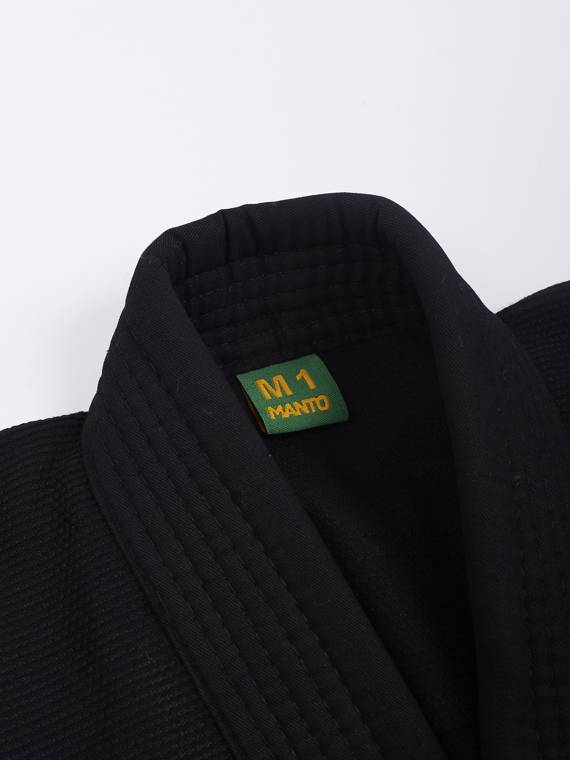 "MANTO ""Junior BASIC"" BJJ Gi czarne"