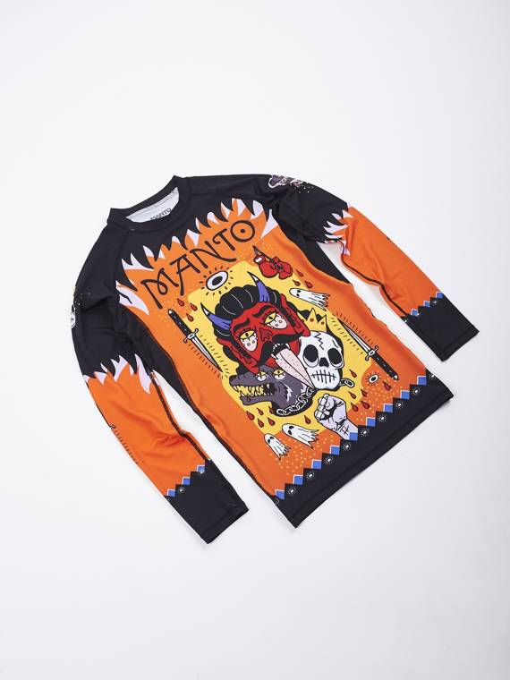 MANTO long sleeve rashguard DIABLO