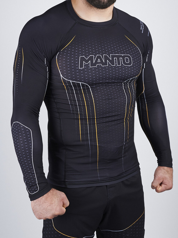 MANTO long sleeve rashguard ICON czarny
