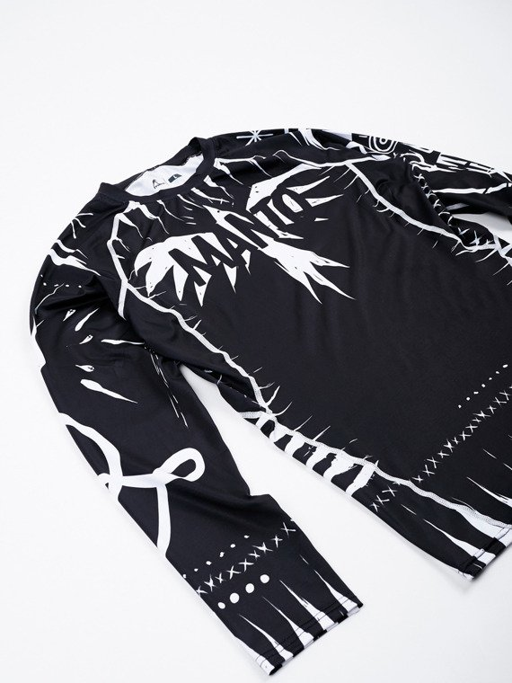 MANTO long sleeve rashguard VOODOO 2.0