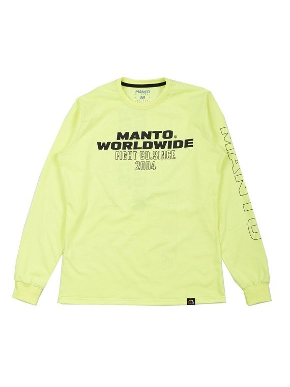 MANTO longsleeve HEAT zielony