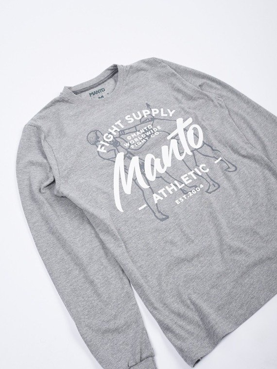 MANTO longsleeve SUPPLY melanż