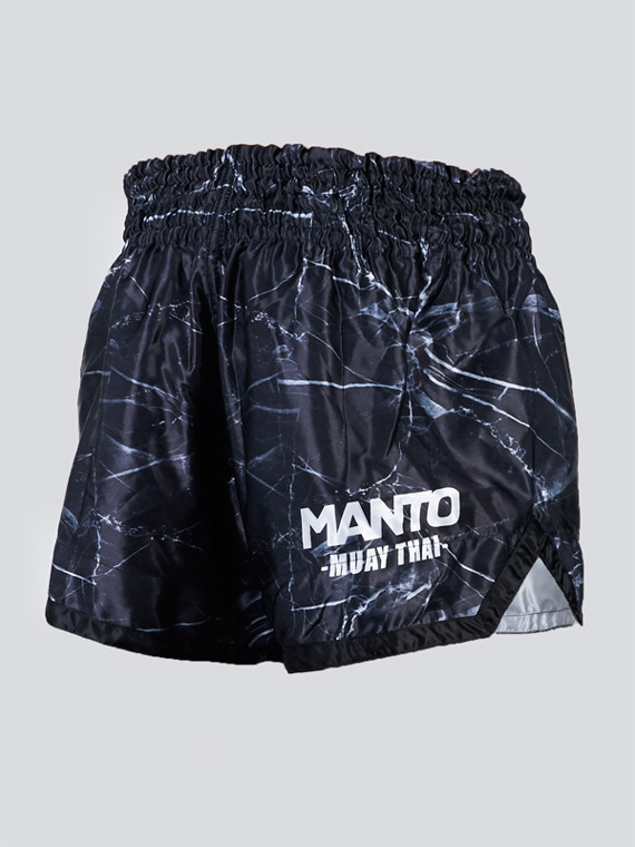 MANTO spodenki MUAY THAI BLACK