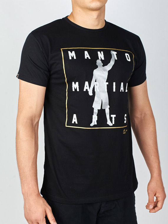 MANTO t-shirt ICON czarny