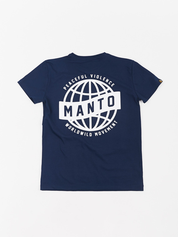 MANTO t-shirt MOVEMENT granatowy
