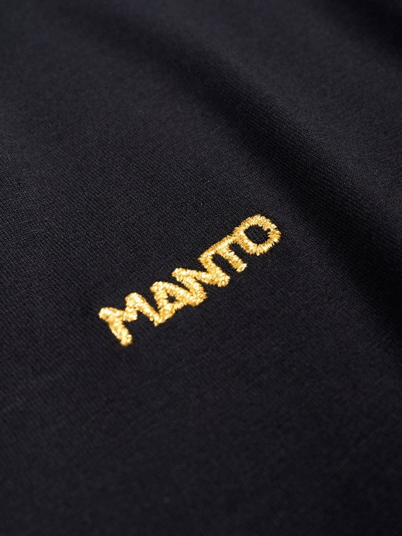 MANTO top longsleeve FLASH czarny