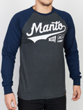 MANTO longsleeve NUMBER ONE grafitowy