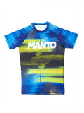 MANTO short sleeve rashguard GRAFFITI