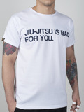 MANTO t-shirt BAD FOR YOU biały