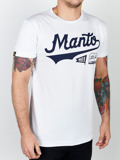MANTO t-shirt NUMBER ONE biały